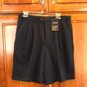 IZOD XFG stain free microfiber golf shorts, NWT 34